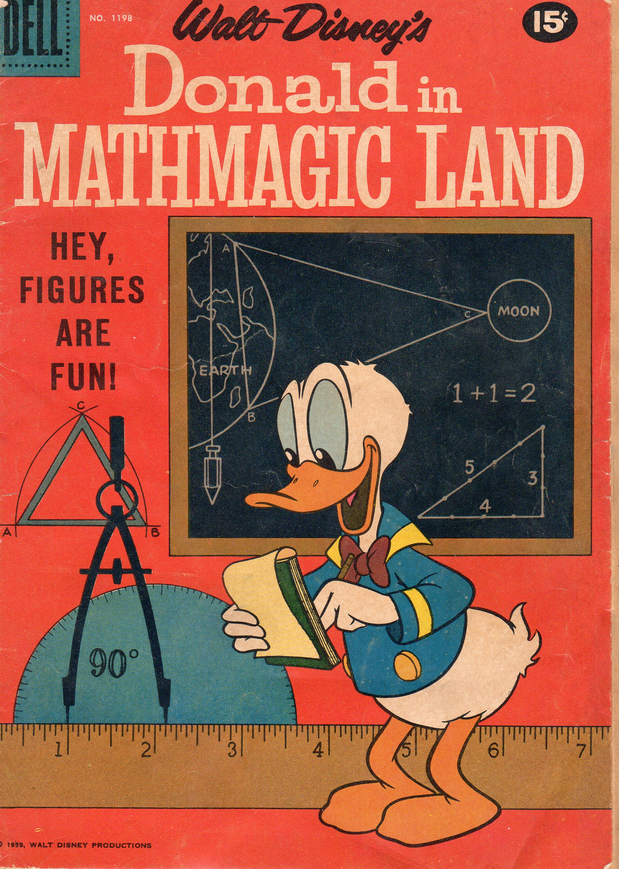 Printables Donald In Mathmagic Land Worksheet the copacetic comics company franksantoro donald duck in mathmagic land